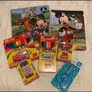 Mickey Mouse School Supples